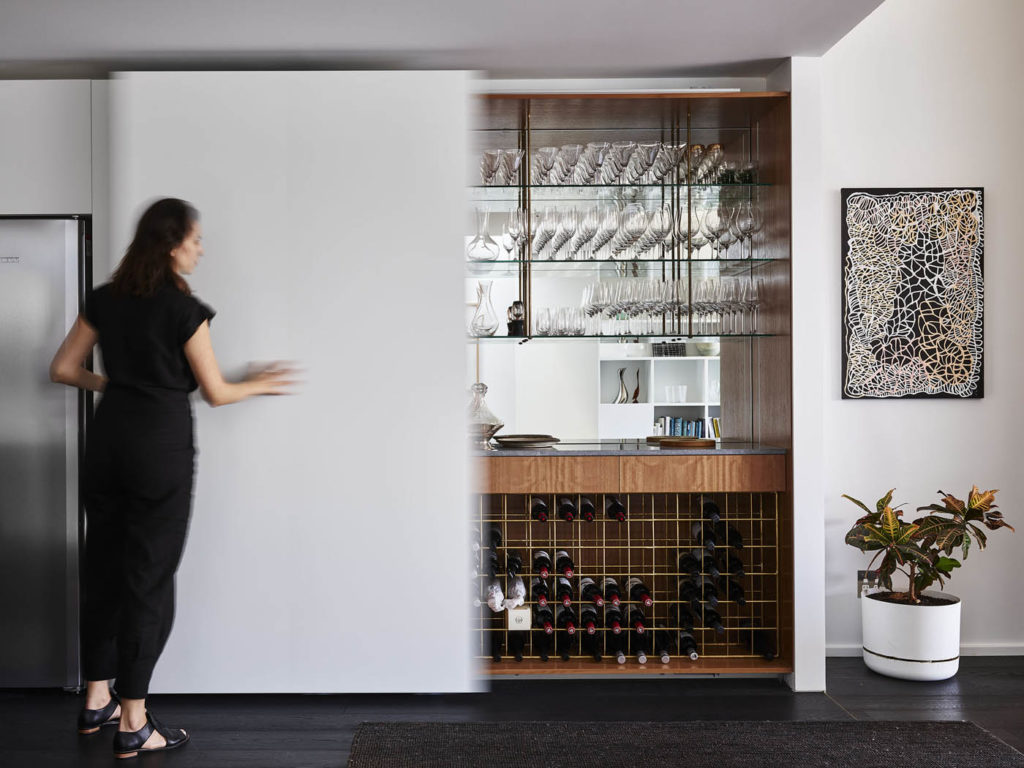 Sydney Bayside Home With Bookcase The Design Writer